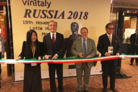 missione commerciale di Vinitaly in Russia