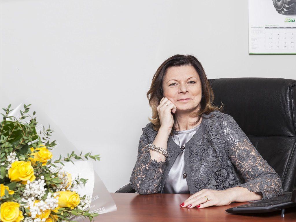 Lucia Salmaso, amministratore delegato Bkt Europe