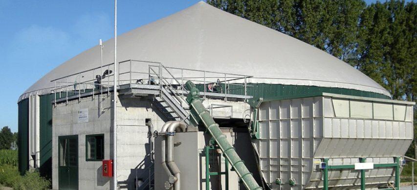 impianto di biogas
