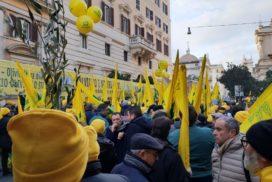 protesta Coldiretti 8 gennaio 2019