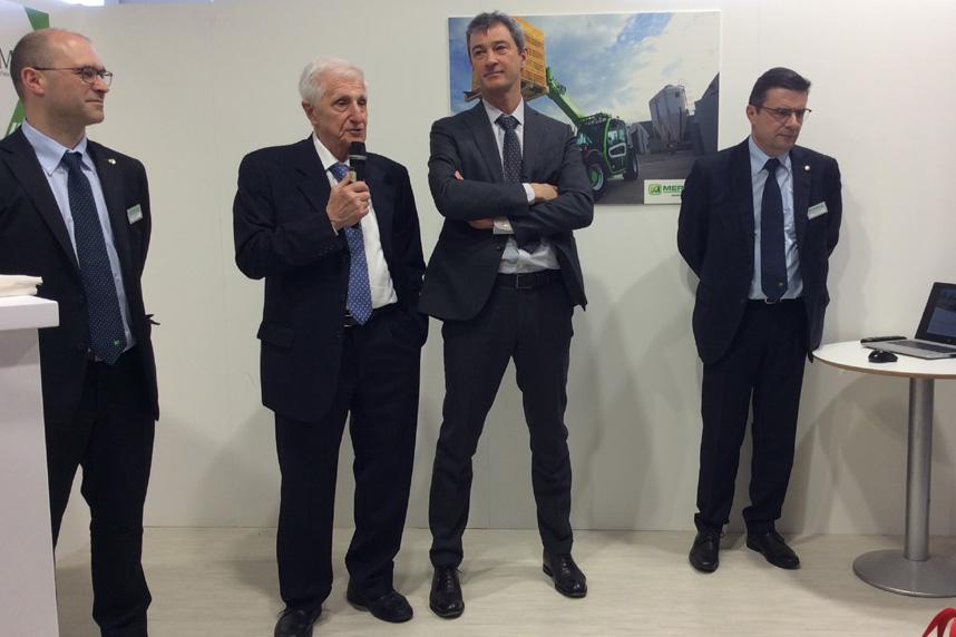 Amilcare Merlo e Paolo Merlo al Sima 2019