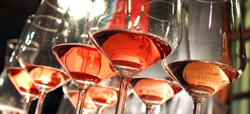 Bardolino Chiaretto bicchieri vino