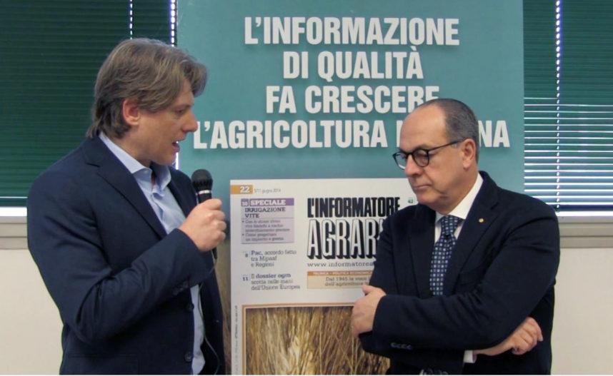 Paolo De Castro a LInformatore Agrario
