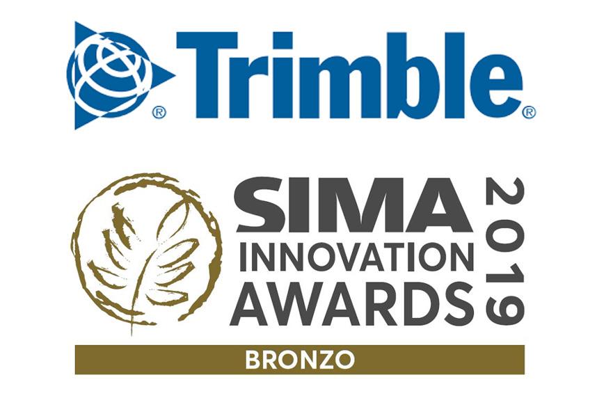 Trimble Sima Innovation Awards bronzo