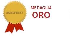 Macfrut medaglia d'oro