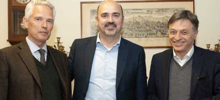 I partecipanti CGBI all'incontro con Manzato