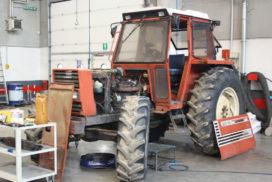 trattore Fiat manutenzione