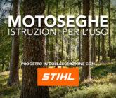 Motoseghe - cover progetto con Stihl