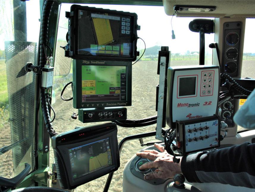 strumenti cabina trattore