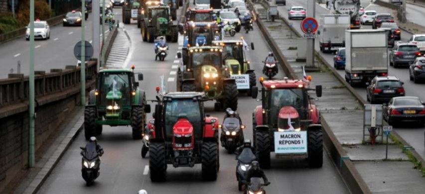 manifestazione trattori