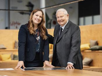 Cathrina Claas-Mühlhäuser e Helmut Claas
