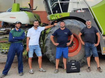 MaxiMaize agricoltori Chiaro e team Syngenta