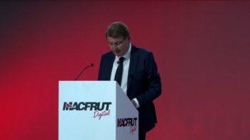 Renzo Piraccini inaugura Macfrut Digital