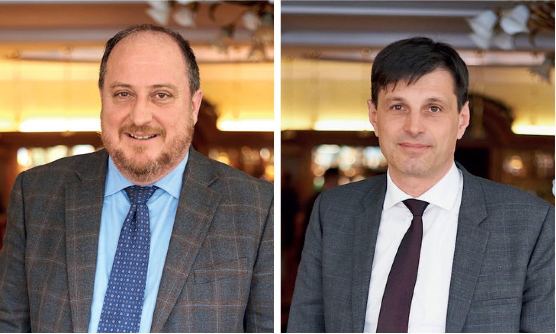 Albano Agabiti e Andrea Berti